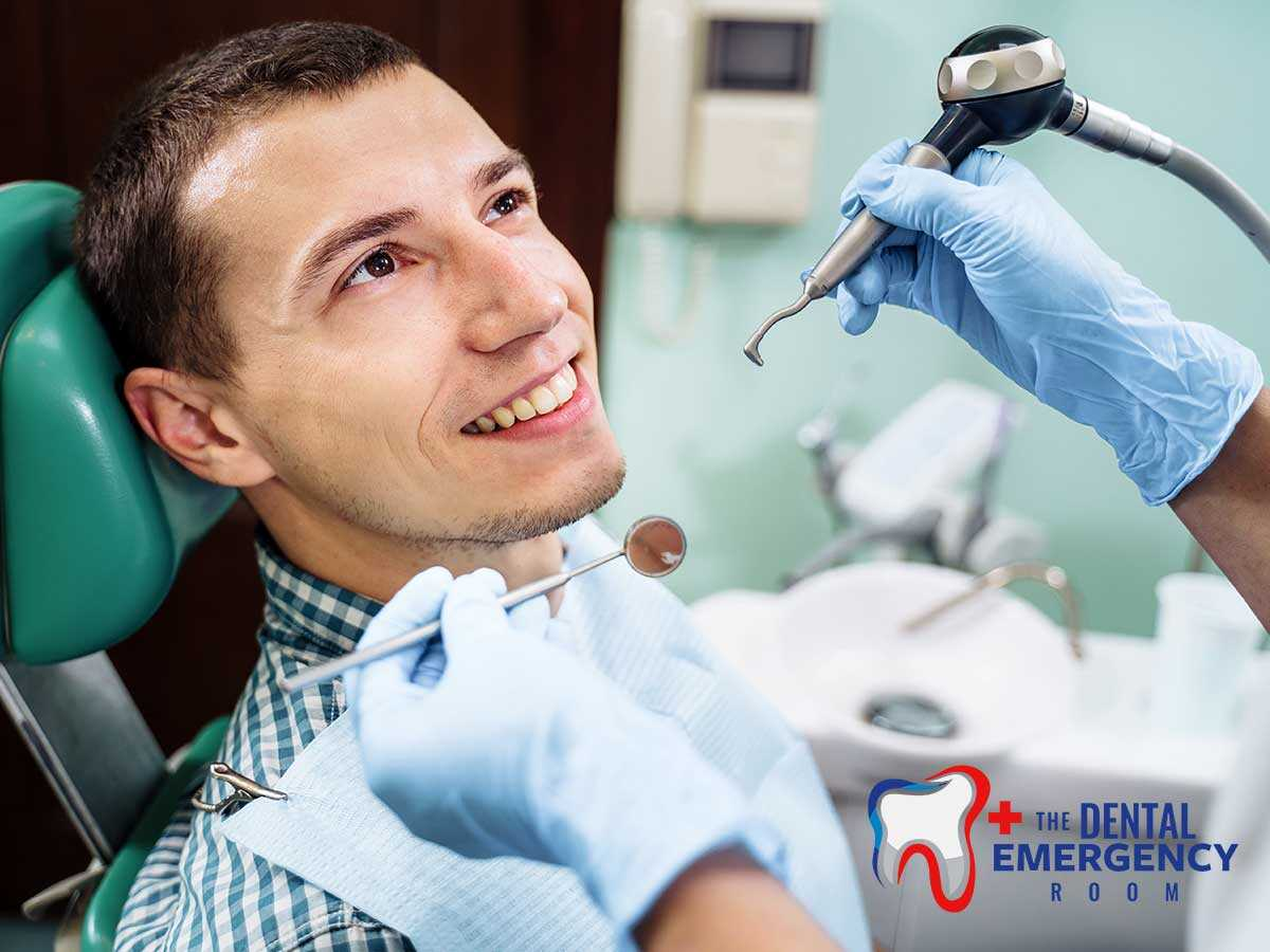 A dentist patient overcoming his dental phobia in Ohio
